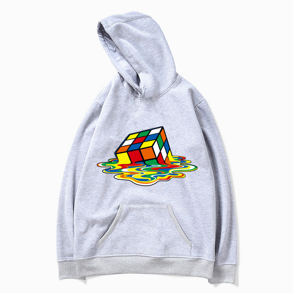 Qualified New Fashion Big Bang Theory Cube Funny Asian Size Hoodies And Sweatshirts Harajuku Hip Hop Men Mwt010 Men's Clothing