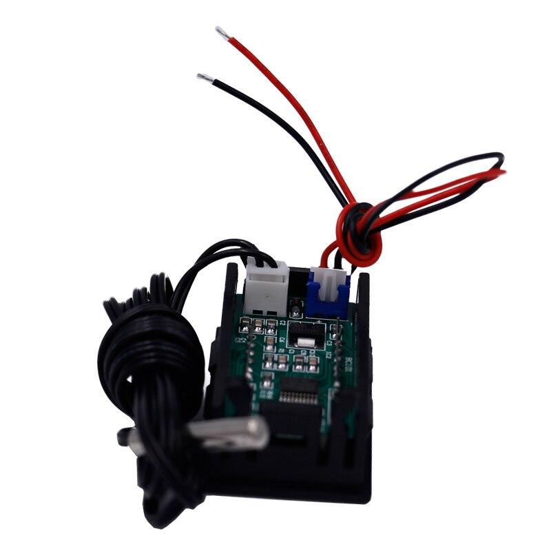 Thermomètre numérique 12V avec sonde de température compteur de surveillance multi-usage -50 ~ 110C détecteur 35% off