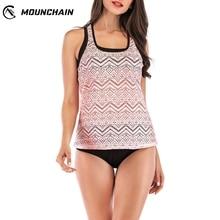 Plus Size Swimwear Women Hollow Out Low Waist Skirt Type Mesh Swimsuit Grenadine Top