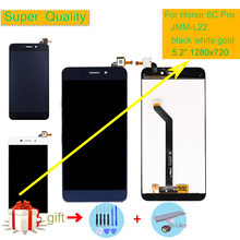 цена на ORIGINAL 5.2 For Huawei HONOR 6C PRO DUAL SIM JMM-L22 LCD Display Touch Screen Digitizer 6CPro LCD Screen Assembly LCD Complete