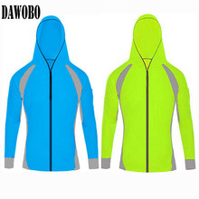 2017 Men women Cardigan Sunscreen professional fishing breathable wicking long sleeved clothes mosquito Anti outdoor anti