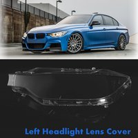 Front Left Car Headlight Headlamp Lens Cover Clear Lenses For BMW F30 F31 For 3 Series