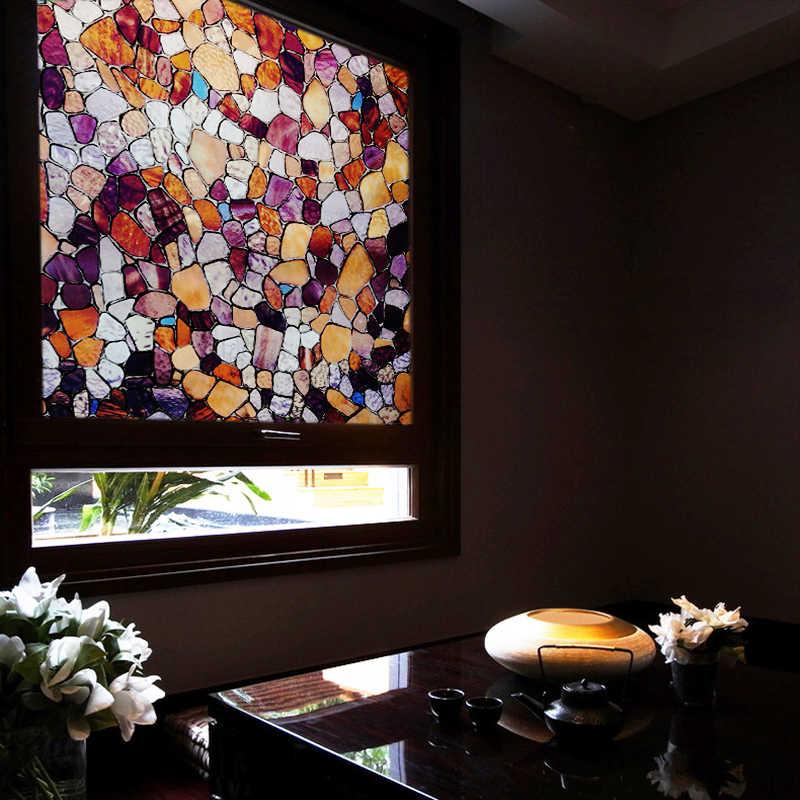 60*150 cm trasferimento di calore del vinile window film static cling opaco privacy di vetro della stagnola decorativo per la casa window sticker anti-uv decalcomanie