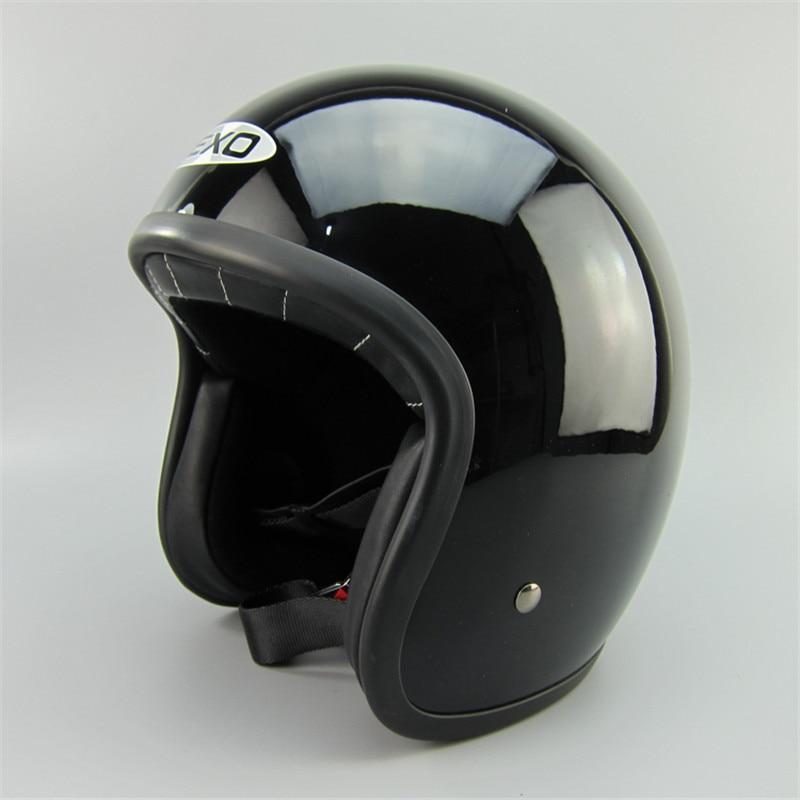 ФОТО Motorcycle helmet retro helmet DOT certification