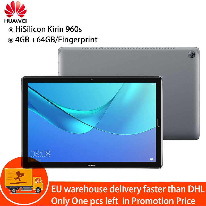 HUAWEI MediaPad M5 tablettes 10.8 ''4 GB + 64 GB Wifi tablettes PC Android 8.0 HiSilicon Kirin 960 s Octa Core 13MP cames tablettes 7500 mAh