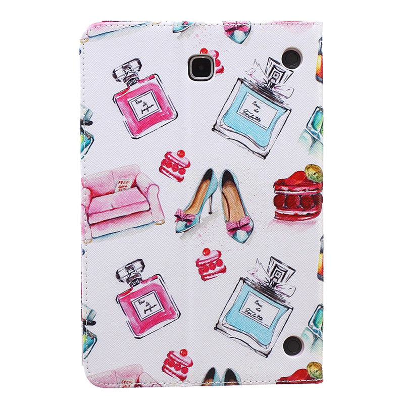(1Pc) Case For Samsung Galaxy Tab A T350 Stand PU Leather Cover For Samsung Tab A 8.0 T350 T355 8\