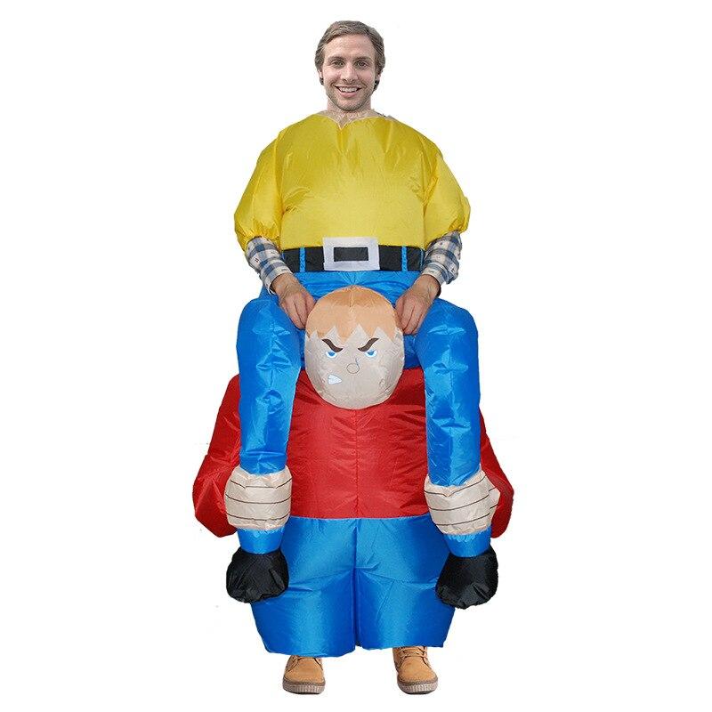 Donald Trump pantalones vestido de fiesta paseo en Me trajes de mascota llevar de nuevo juguetes novedad fiesta de Halloween diversión ropa de Cosplay disfraz - 3