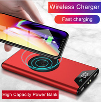 20000 mAh wireless charging power bank for Samsung for iphone 8 X XS max fast charge Qi mobile power charger for iPhone XR XS