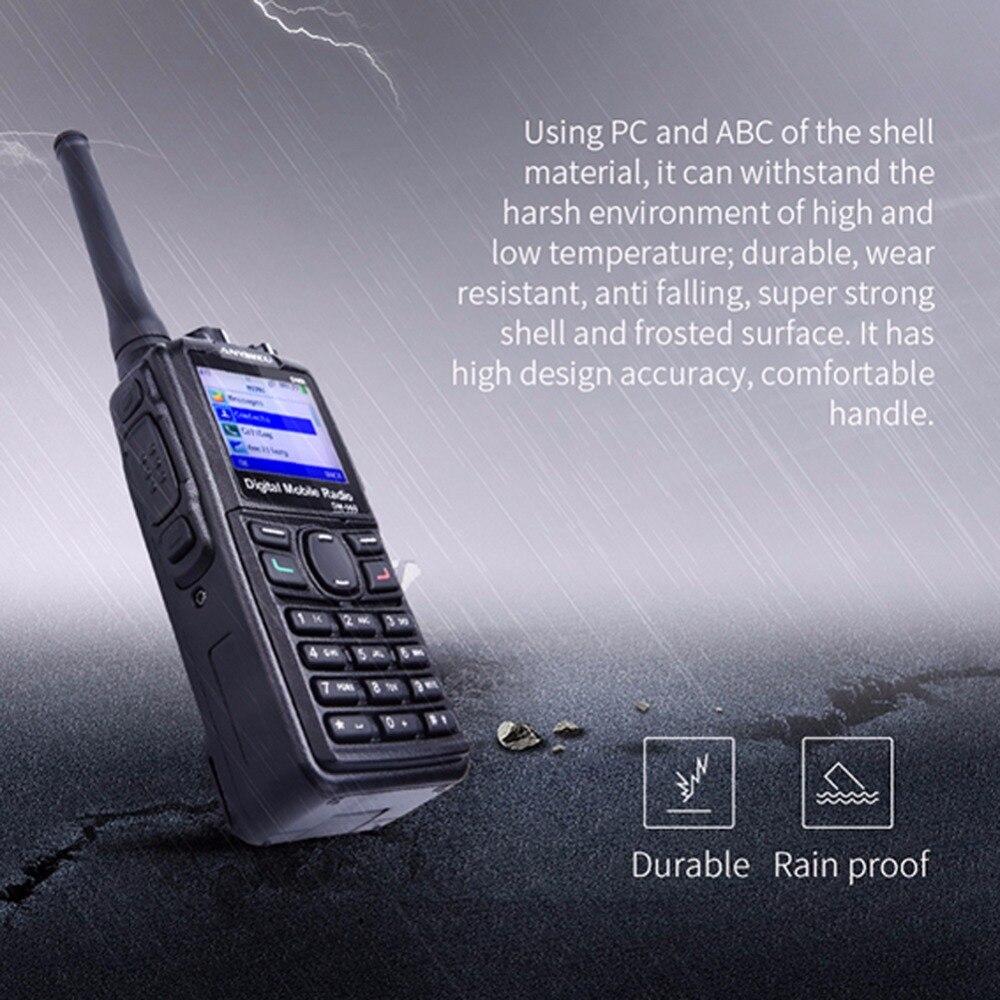 HOT SALE] +cable ! Dual Mode TDMA digital/Analog DMR Radio
