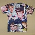 Harajuku men/women 3d t shirt print Justin Bieber character t-shirt casual tops camisetas plus size S-XXL Drop Shipping