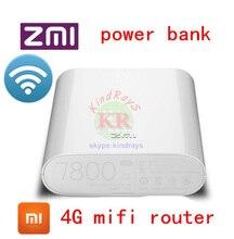 Оригинальный Новый Xiaomi Zmi MF855 7800 МАЧ мифи 3 Г 4 Г Беспроводной Wi-Fi маршрутизатор Мобильный Банк Питания 7800 мАч Micro USB пк mf910 e5573 y854