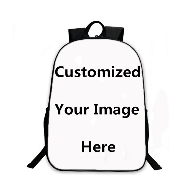 1b4a75a841d2 US $29.98 |Design Unique Personalized Cusomized School Bags 3D Printing  Laptop Backpack Men's Travel Bag Rucksack Mochilas Custom Backpack-in ...