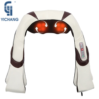 Heated neck massager best neck massage machine electric professional shoulder back body massages therapy car home