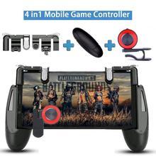 Мобильный контроллер PUBG для iPhone, Android, игровой коврик, мобильный игровой геймпад, джойстик L1 R1, триггеры L1RI, кнопка огня