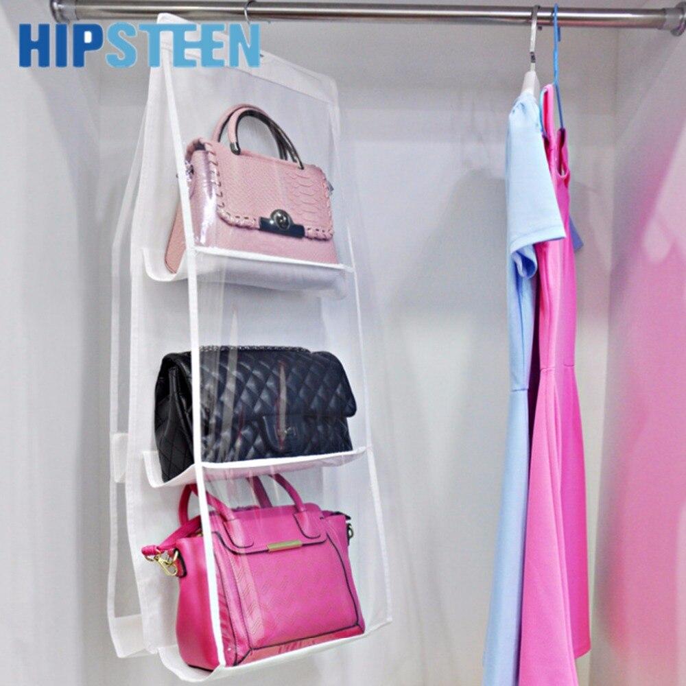 hipsteen bolsillos que cuelgan el bolso monedero del bolso ordenado del organizador del armario de