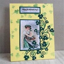 Eastshape Winding Flower Metal Cutting Dies Scrapbooking for Card Making DIY Embossing Die Cut New Craft Decoration