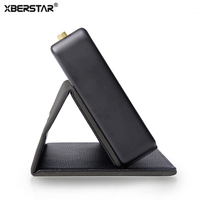 Case Stand Cover For Marshall Stockwell Bluetooth Speaker Luxury PU Leather Magnetic Closure Front Cover
