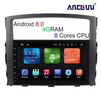 9 Inch Big Screen 8 Core Android 8 0 Car DVD GPS For MITSUBISHI PAJERO 2006