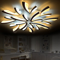 Led-deckenleuchte für wohnzimmer schlafzimmer Weiß/Schwarz Einfache Plafond led decke lampe hause leuchten AC90-260V