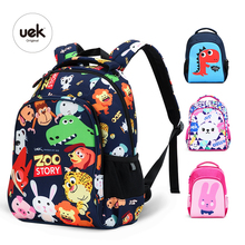 Yeni UEK 1 6 sınıf çocuk sırt çantaları erkek okul sırt çantası çocuk çantası hayvan baskı dinozor çanta çocuk okul çantaları kızlar