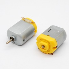 Free shipping!! new 5pcs  DC Motor Standard 130 motor with varistor for toy 6 V 0.11 A toy motor