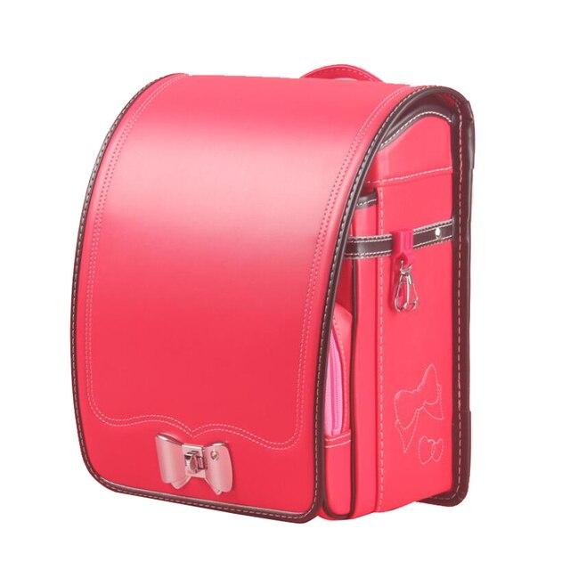 2019 NEW school backpack for kids Japan book bag waterproof PU Orthopedic Backpack Children Large capacity Primary Schoolbag