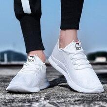 Новый Для мужчин бега; трендовая обувь Легкие дышащие взрослые БРЭНД спортивной обуви на шнуровке Нескользящая Для мужчин кроссовки, мягкая подошва мужская обувь