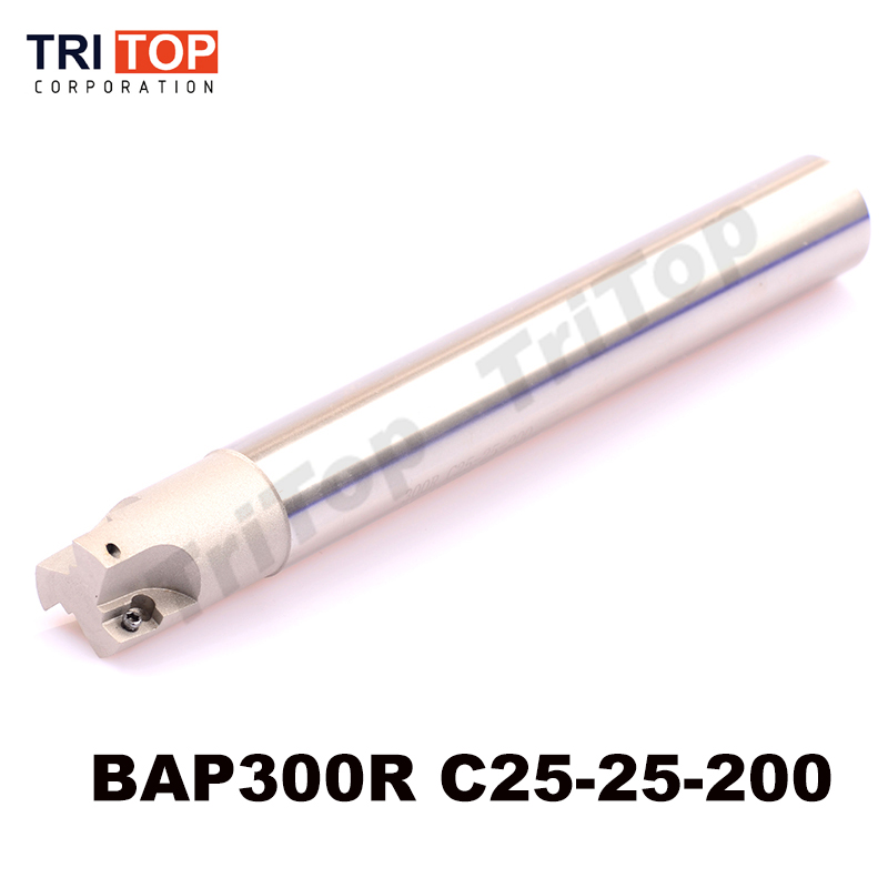 BAP JAP 300R C25-25-200 D25 SHANK LENGTH 200 Milling tool head face mill cnc milling machine insert APMT1135 APMT1135PDR C300R футболка toy machine poo poo head face brown