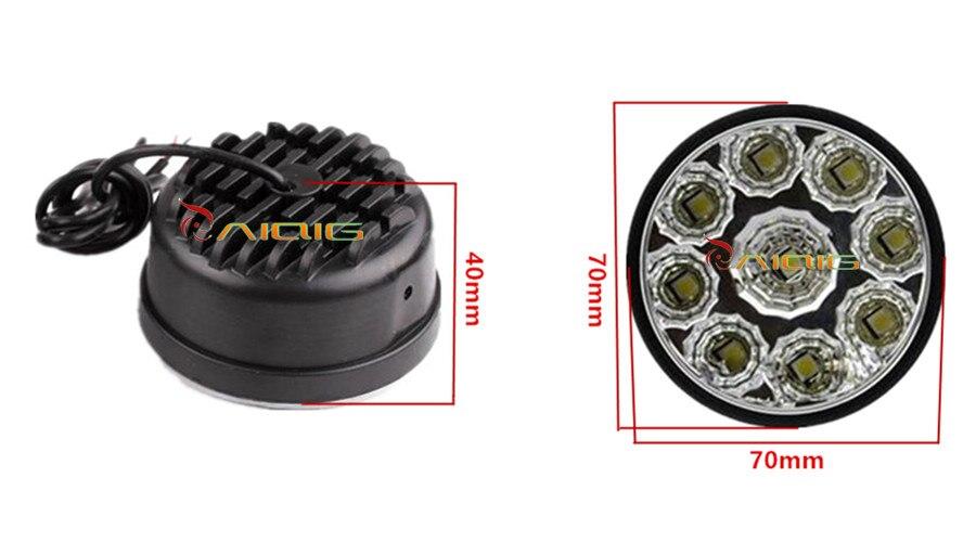 Auto Led Lampen : Paar wasserdichte led drl tagfahrlicht nebelscheinwerfer weiß