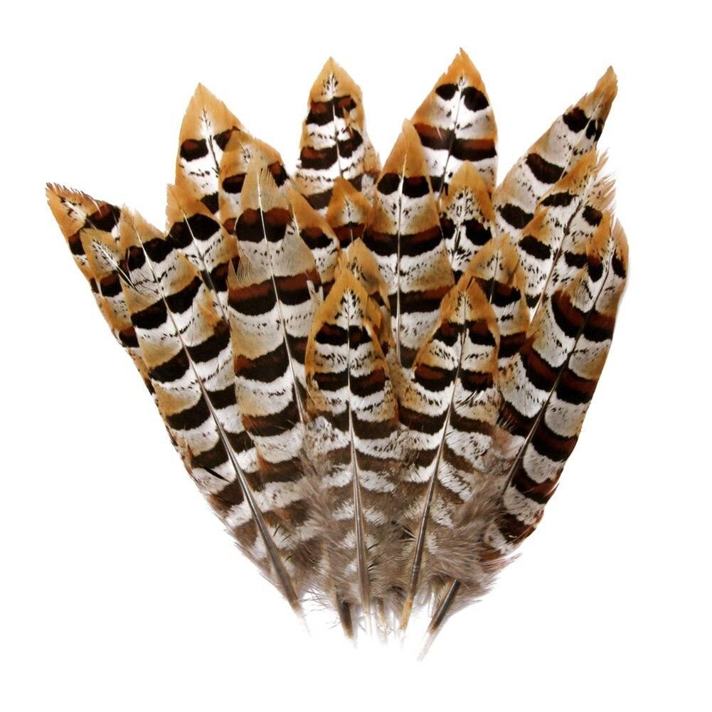 Натуральное павлинье перо перья фазана для рукоделия страусиные перья Изготовление ювелирных изделий рождественские праздничные украшения Плюмы