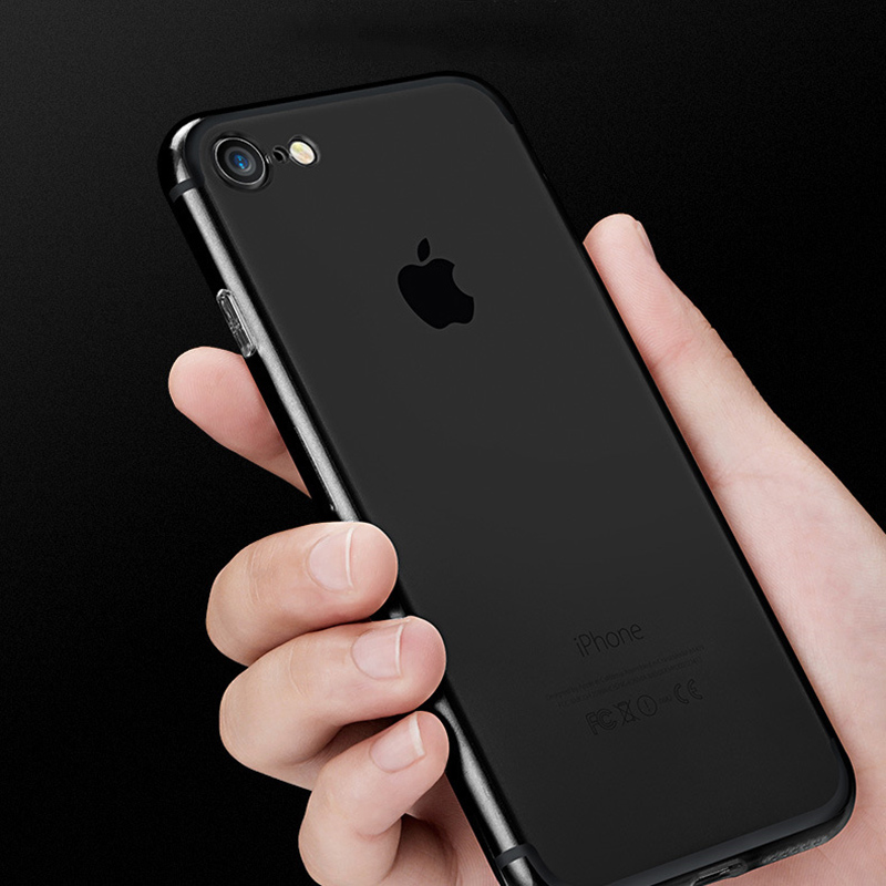 coque jet black iphone 8