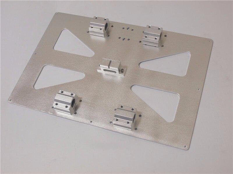 Duży rozmiar XL 300x200mm aluminium Y przewóz płyta i3 RepRap 3D do aktualizacji drukarki wszelkiego rodzaju połączenie garnitury