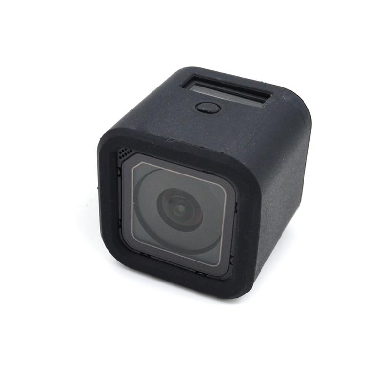 3 Carcasa Silicona len Cap para Go Pro Hero 4/3/ UV Protector de Lente GoPro Hero 4/Marco est/ándar para Protector Caso de Vivienda