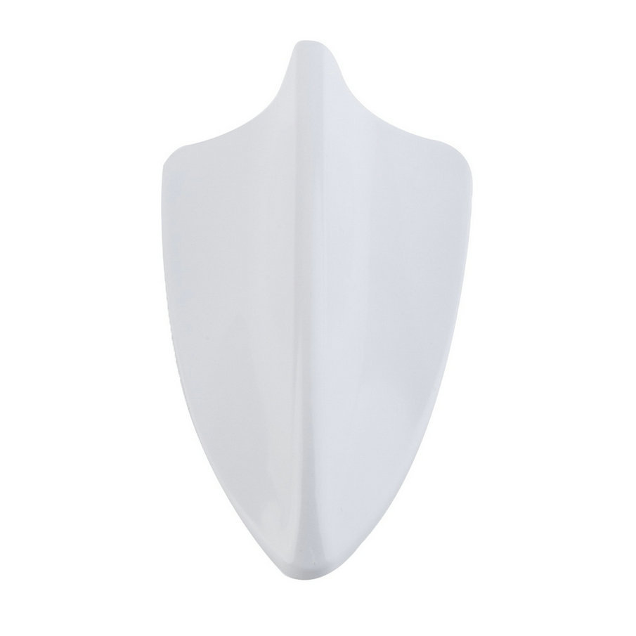 New Waterproof Car Auto Shark Fin Shape Antenna Antistatic Dummy Aerial Roof White Color