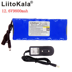Liitokala 12V 9800mAh Rechargeable Lithium Battery 3S3P Capacitor DC CCTV Camera Monitor