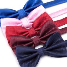 XGVOKH мужские галстуки модные бабочка вечерние свадебные галстук для мальчиков девочек конфеты Одноцветный с бантом аксессуары галстук-бабочка