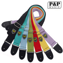 High Quality 7Color guitar strap guitar strap cotton webbing musical instrument accessories wholesale S309
