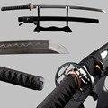 Molto Sharp Giapponese Samurai Spada Katana Piegato In Acciaio Temperato Argilla Completa di Linguetta Espadas Decorazione D'epoca Samurai Cosplay Coltello
