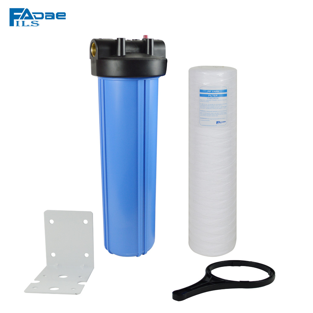 20 x 4-1/2 Whole house Water Filtration Include 5 Micron String Wound Sump System Drop-In filter/Mounting bracket/wrench/Scew em 307s 7 8 filter drier providing filtration in refrigeration system and hvac products