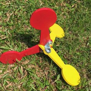 Image 4 - كرة الطلاء في الهواء الطلق الهدف اطلاق النار ممارسة الثلاثي كرات الطلاء مسدس هواء الهدف الرماية الهدف الثلاثي