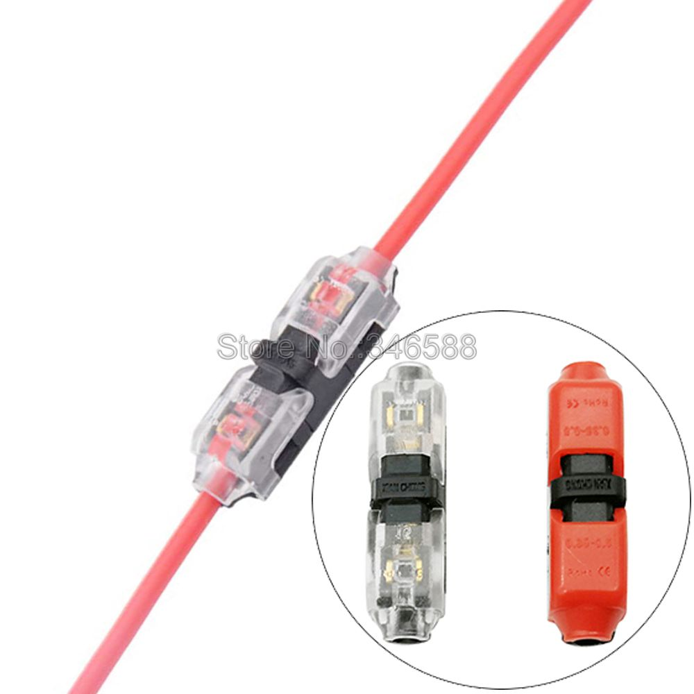 10pcs scotch lock quick splice wire wiring connectors for 1 line 22 20awg led strip wire car audio cable terminals crimp [ 1000 x 1000 Pixel ]