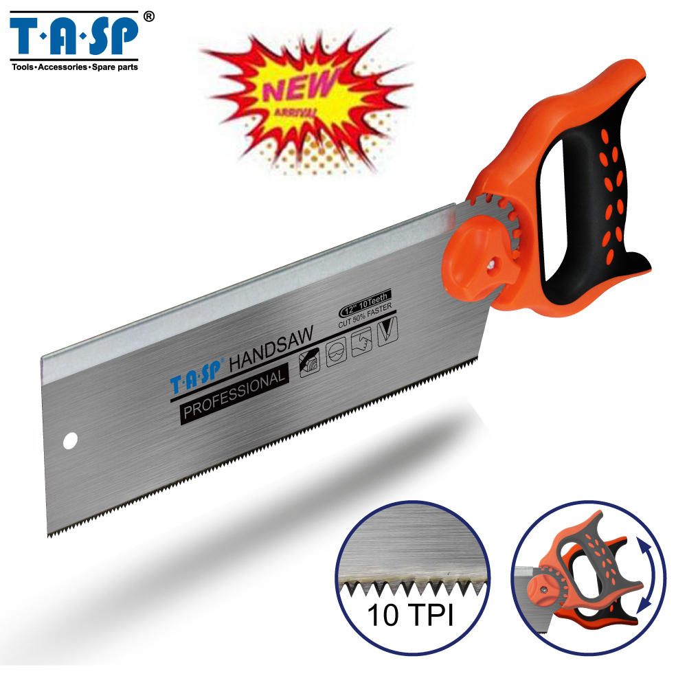 TASP MHS300 12 300mm Multifunctional Tenon Hand Saw For Wood Woodworking Hacksaw Carpentry Tools 12 300mm aluminum alloy saw frame hand saws hacksaw woodworking saws