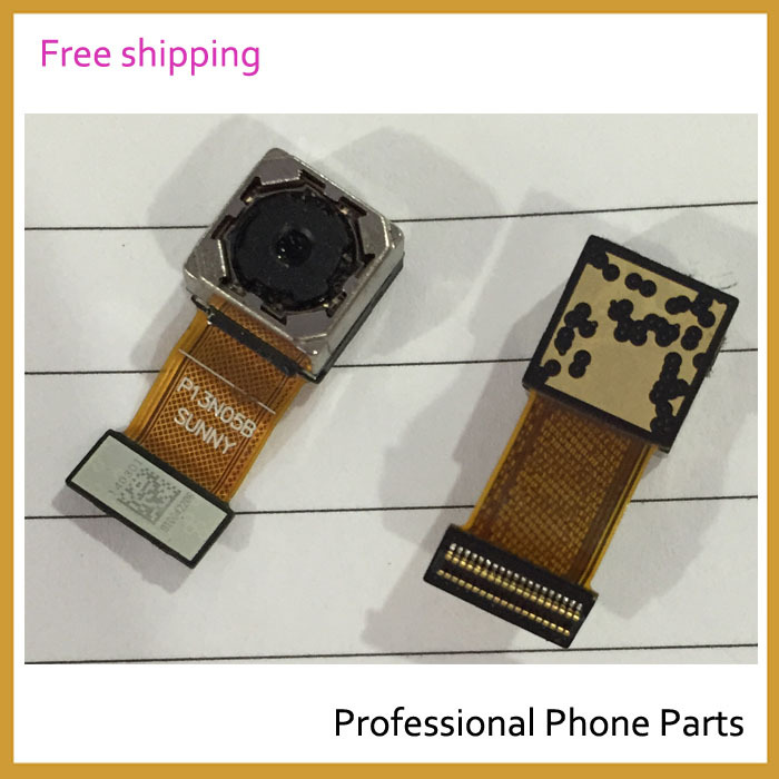 Original Rear Camera For Huawei Ascend P7 Back Camera Flex Cable Mobile Phone Spare Parts, Free Shipping