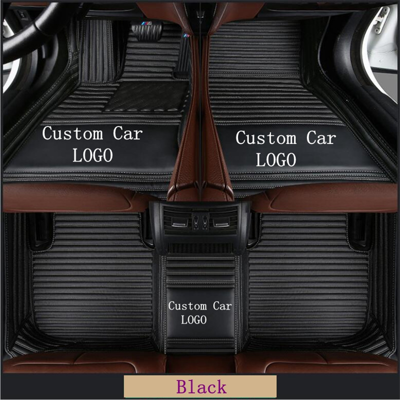 For For <font><b>RX350</b></font> 450 leather <font><b>Car</b></font> Floor <font><b>Mats</b></font> Waterproof <font><b>Mat</b></font> knitting LOGO <font><b>Car</b></font> floor <font><b>mats</b></font> floor <font><b>mats</b></font> For Auto Foot Pads Automobile image