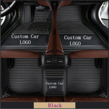Leather Car Floor Mats for Range Rover Sport L320 - 5 Seats 2005-2013 All Weather Leather Waterproof Car Mats 3D Carpets for fiat 500 brand pu leather wear resisting customize car floor mats black grey brown non slip waterproof 3d car floor carpets