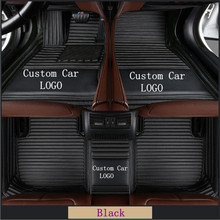 NEW B-MW 1 2 3 4 5 7 Series X1 X3 X4 X5 X6 GT Series Z4 waterproof floor mats Liner Auto Mat custom LOGO Car Floor Mats цена