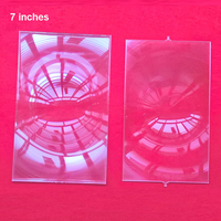 Factory Sale One Pair Of Fresnel Lens Professional Projector DIY For 7 Inch Lcd Projection 2
