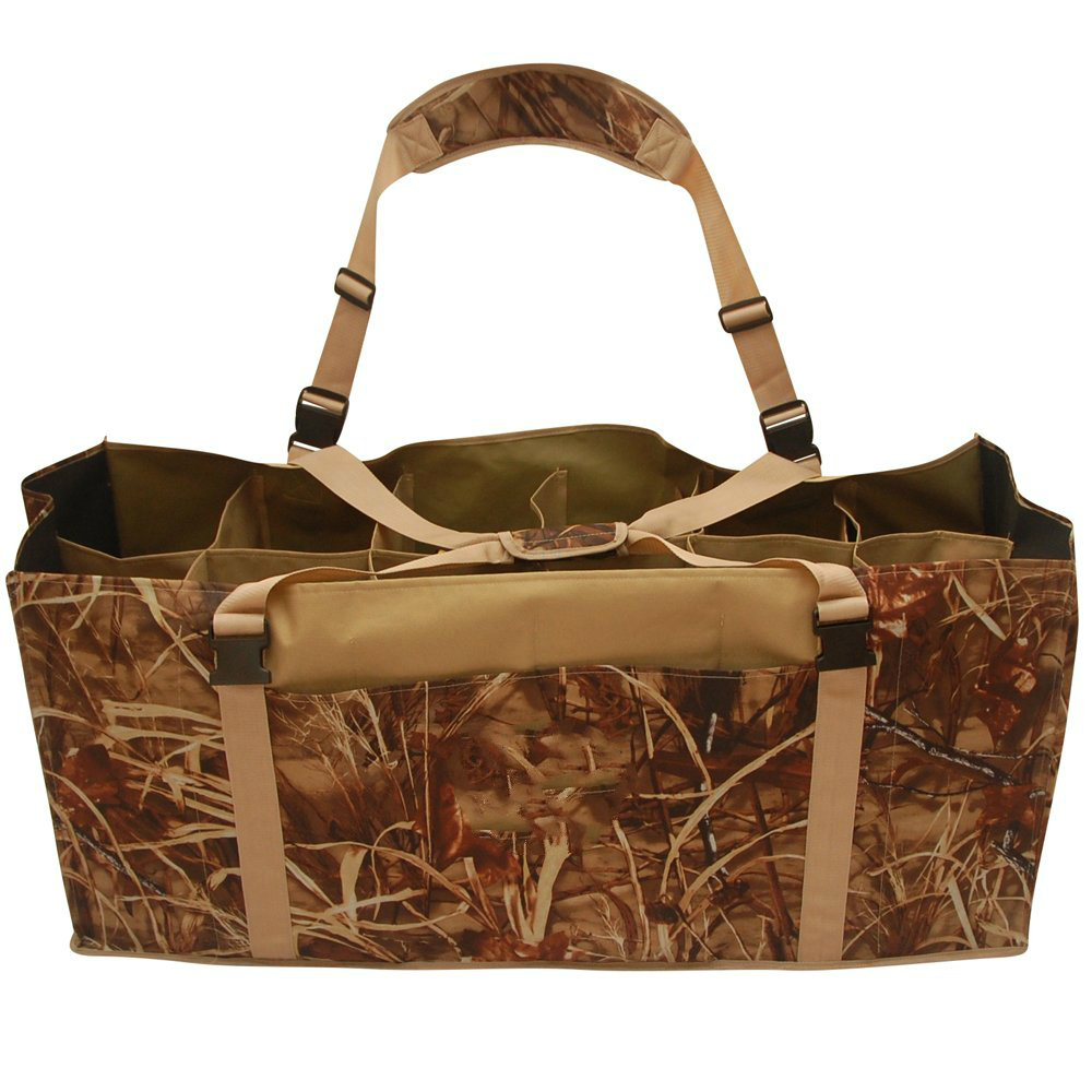 12-Slot-Duck-Decoy-Bag-with-Padded-Adjustable-Shoulder-Strap-Slotted-Decoy-carriers-for-Duck-Goose