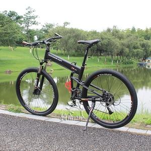 Image 5 - BMX folding frame 26/27.5/29 inch folding mountain bike frame portable Hummer folding frame