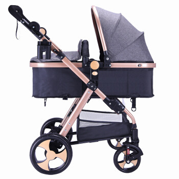Ultra-light portable baby stroller can sit reclining folding shock absorber can be on the plane baby strollerUltra-light portable baby stroller can sit reclining folding shock absorber can be on the plane baby stroller